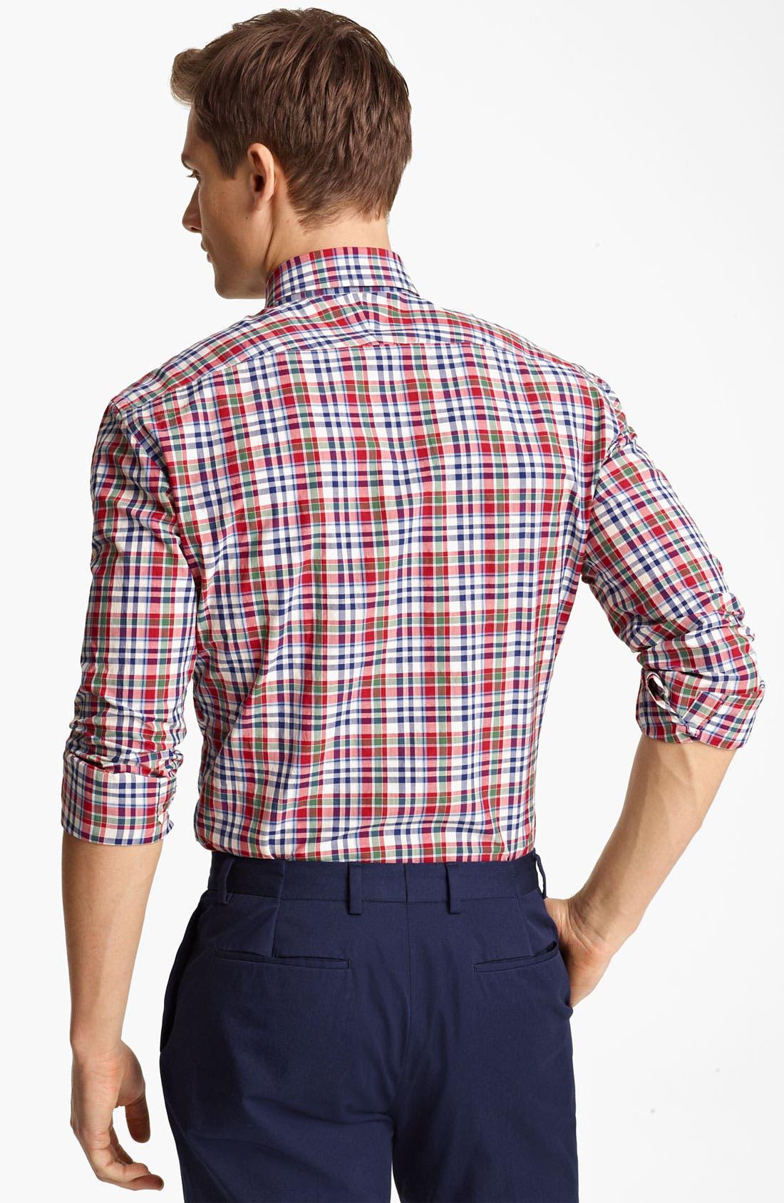 Alternate Image 2  - Paul Smith London Tartan Plaid Shirt