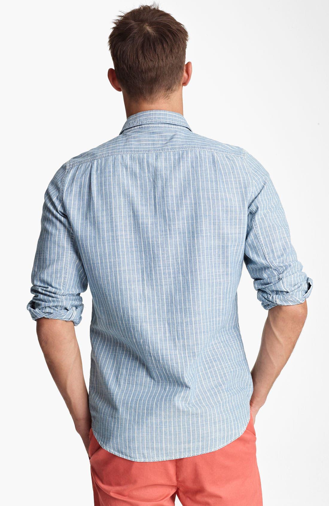 Alternate Image 2  - Jack Spade 'Boomer' Stripe Work Shirt