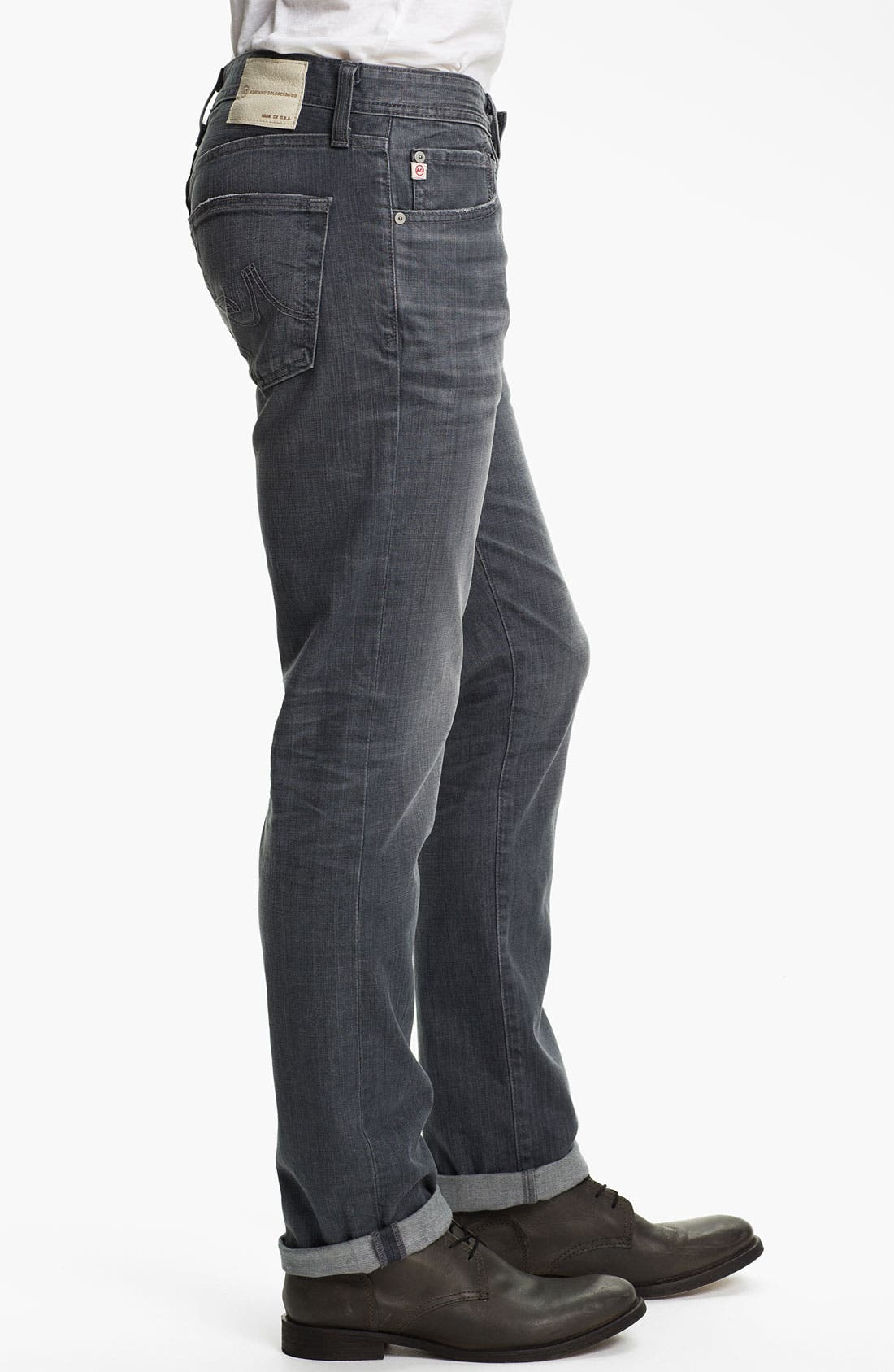 Alternate Image 3  - AG Jeans 'Matchbox' Slim Fit Jeans (7 Year Grey)