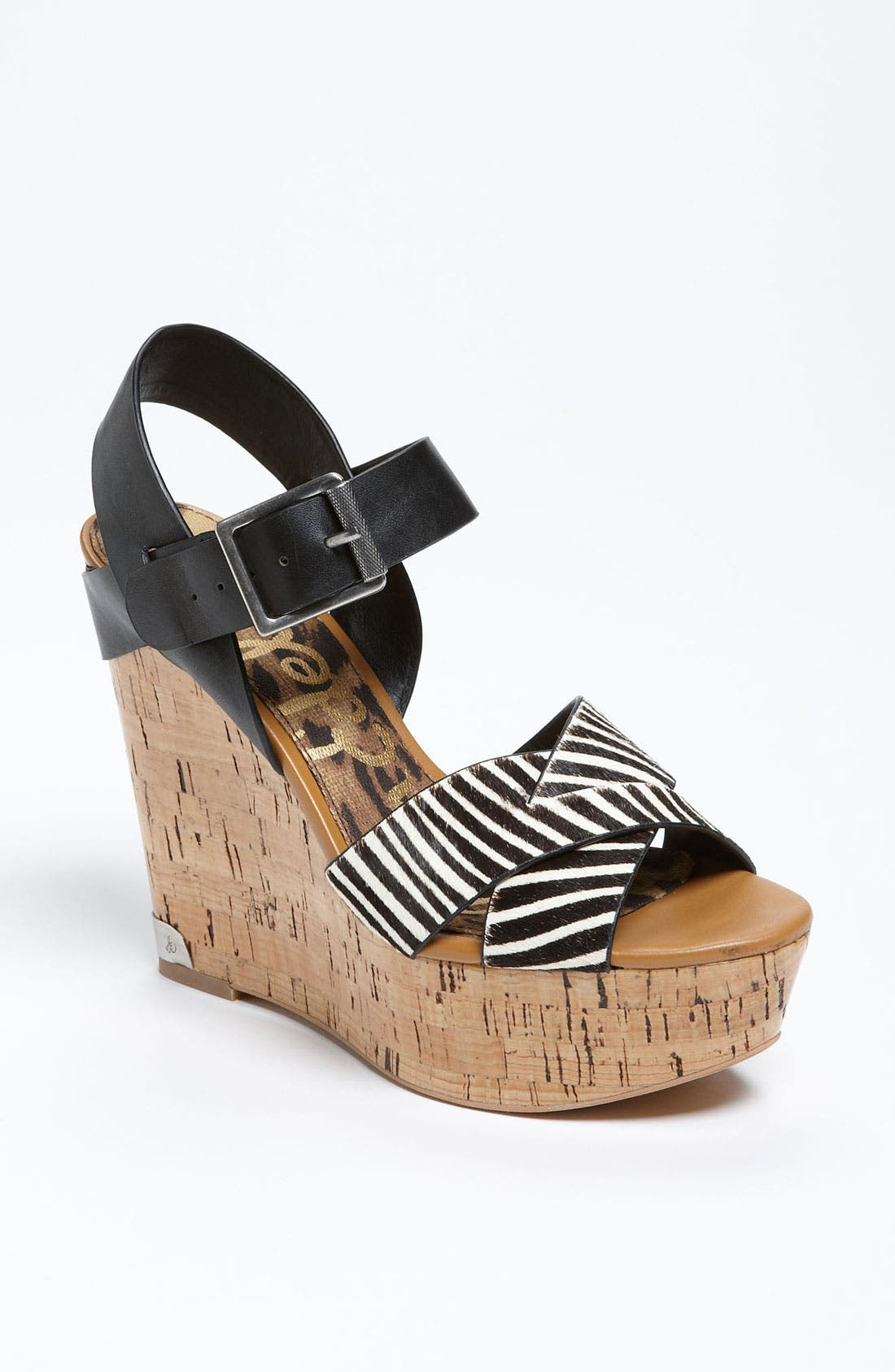 Alternate Image 1 Selected - Sam Edelman 'Sasha' Wedge Sandal
