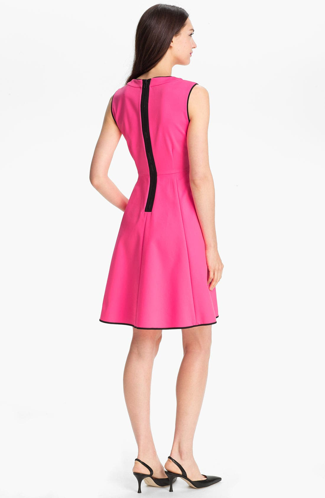 Alternate Image 2  - kate spade new york 'carol' fit & flare dress