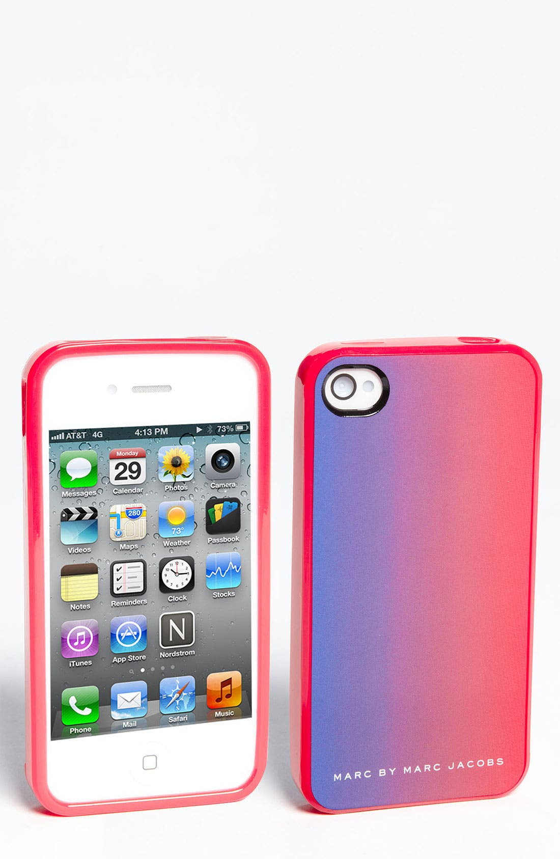 Alternate Image 1 Selected - MARC BY MARC JACOBS Dip Dye iPhone 5 & 5S Case