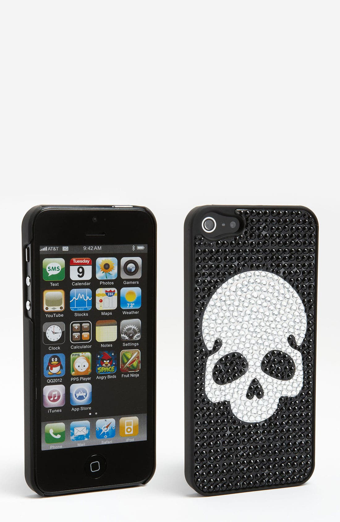 Alternate Image 1 Selected - BP. 'Skull' iPhone 5 Case