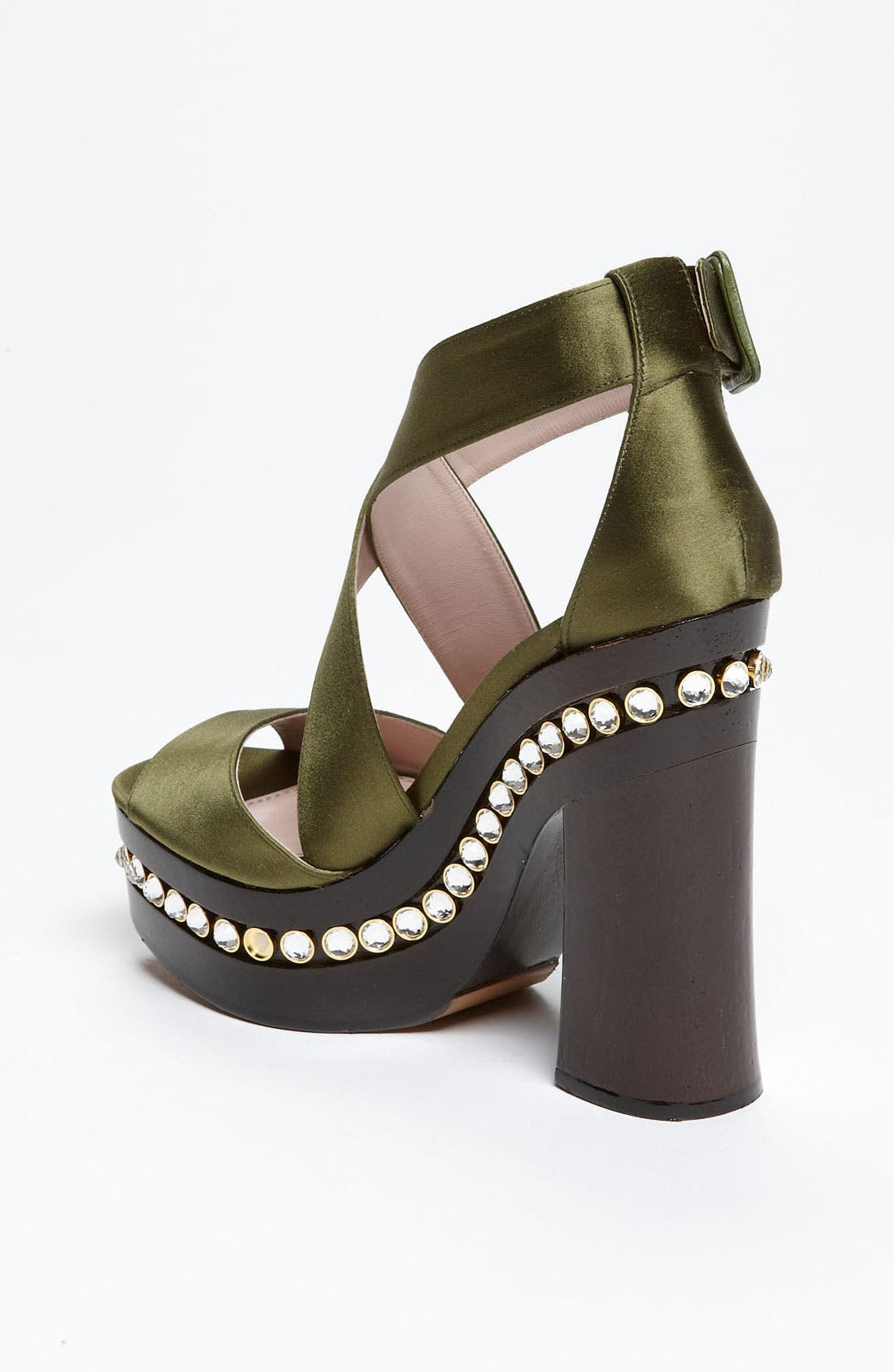 Alternate Image 2  - Miu Miu Crystal Clog Sandal
