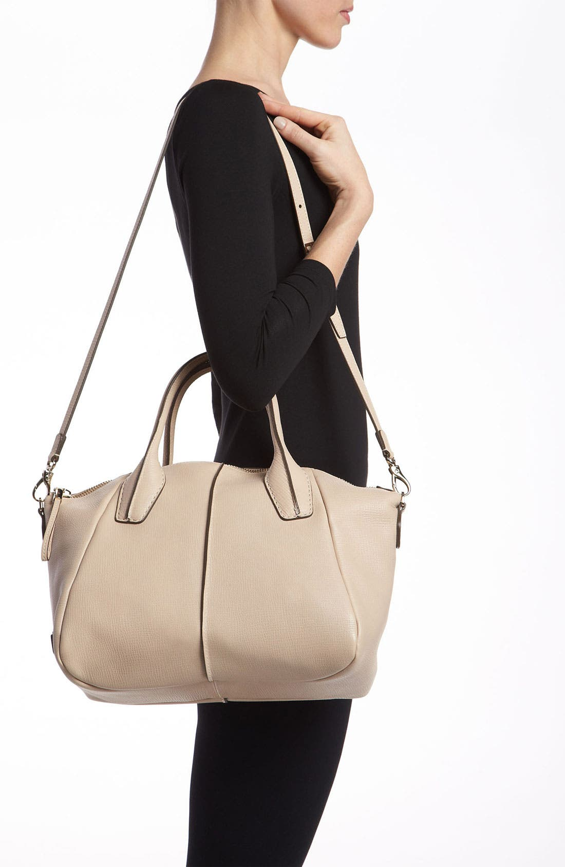 Alternate Image 2  - Tod's 'Medium New D-Styling' Leather Shopper