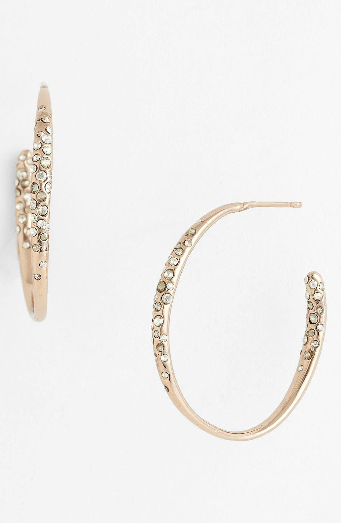 Alternate Image 1 Selected - Alexis Bittar 'Miss Havisham' Small Inside Out Hoop Earrings
