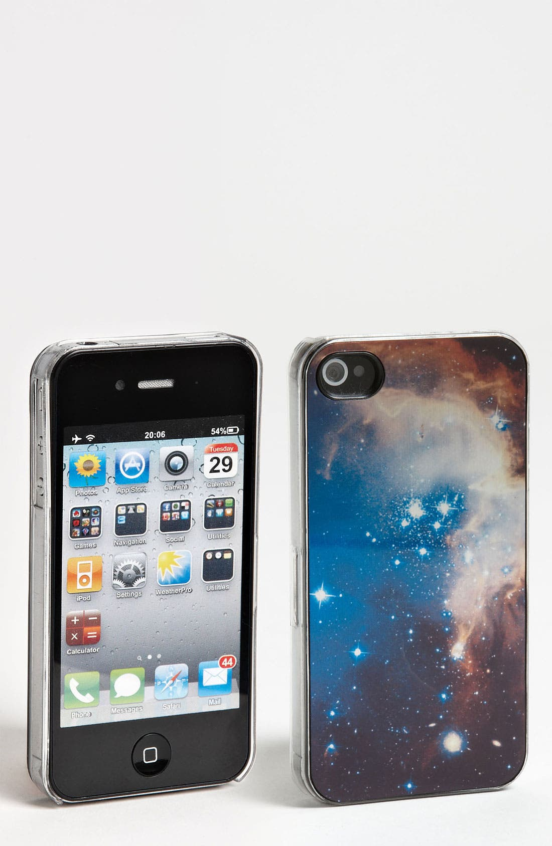 Alternate Image 1 Selected - ZERO GRAVITY 'Space' iPhone 4 & 4S Case
