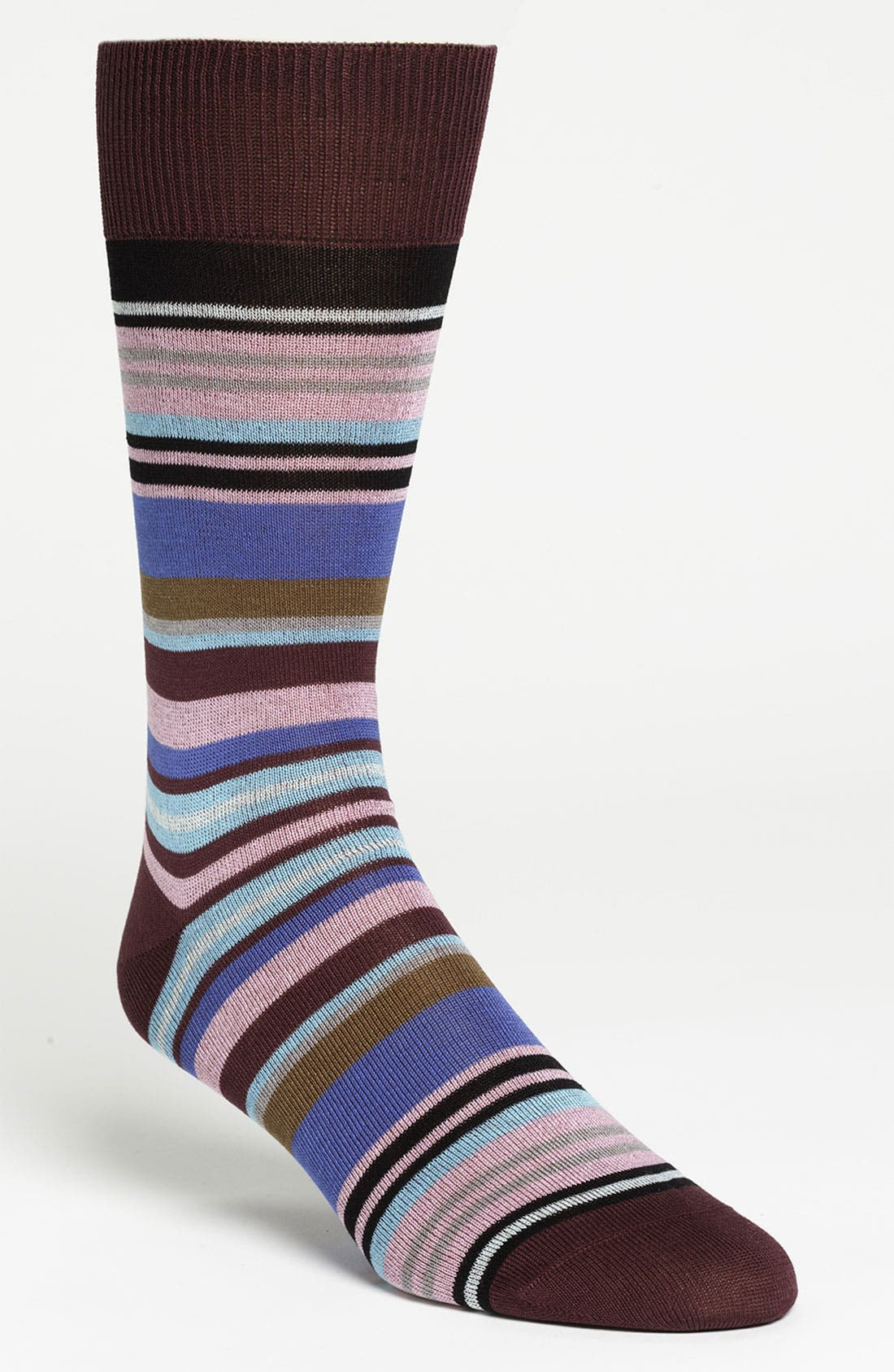 Main Image - Paul Smith Accessories Bright Stripe Socks