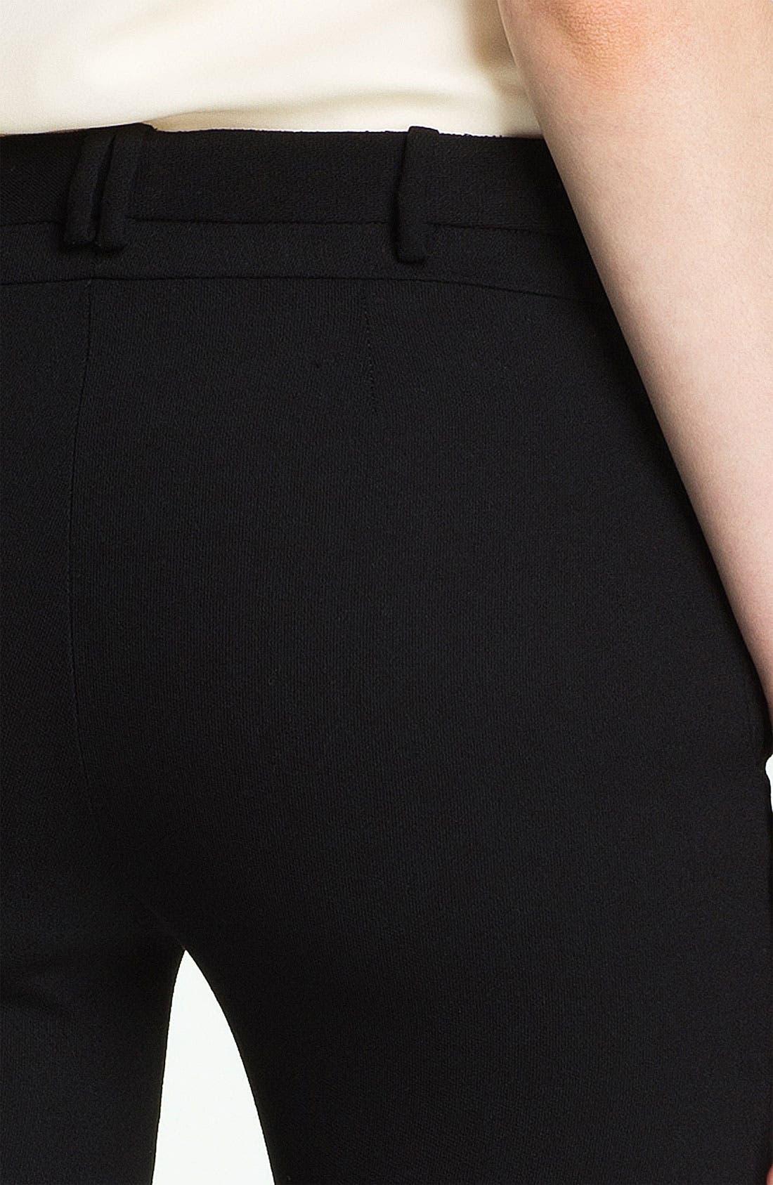 Alternate Image 3  - Halston Heritage Straight Leg Wool Crepe Pants