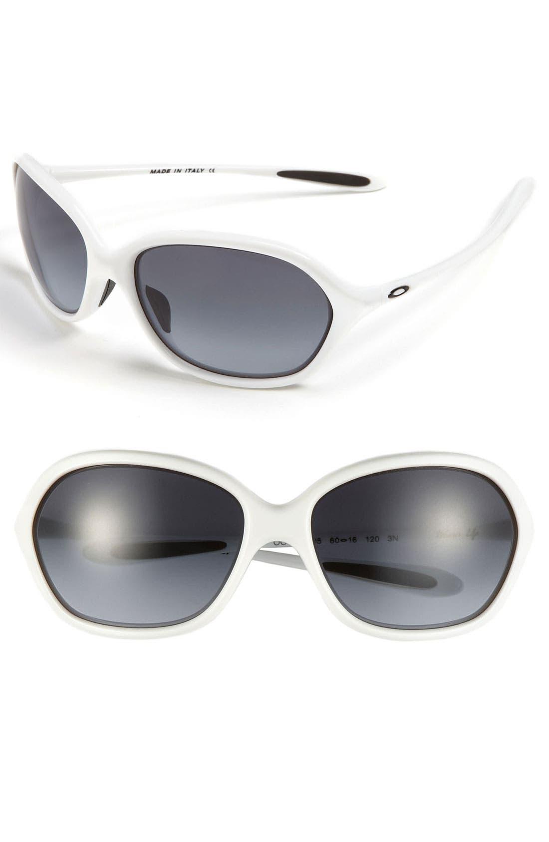 Alternate Image 1 Selected - Oakley 'Warm Up' 60mm Sunglasses