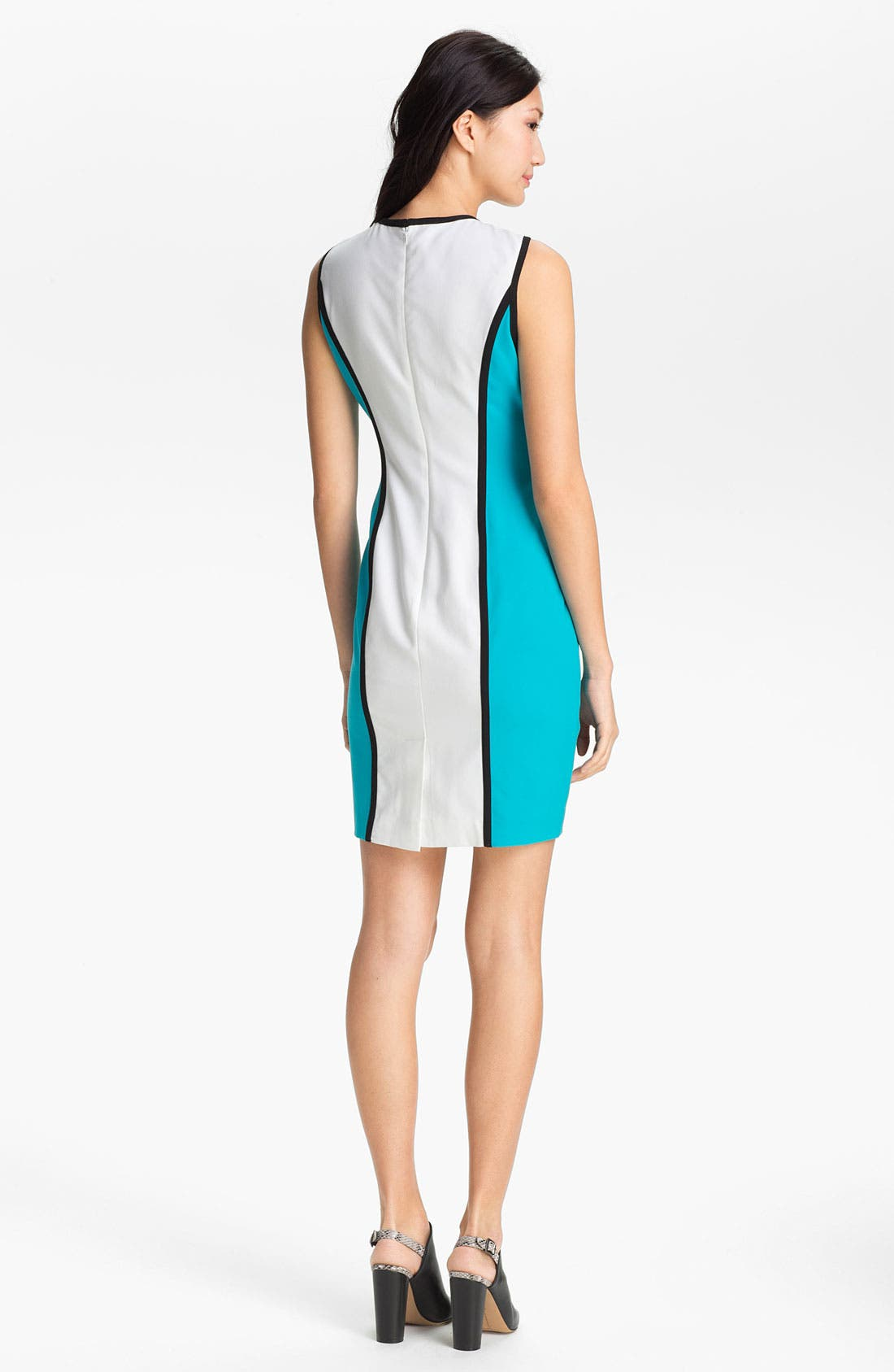 Alternate Image 2  - Calvin Klein Colorblock Sheath Dress