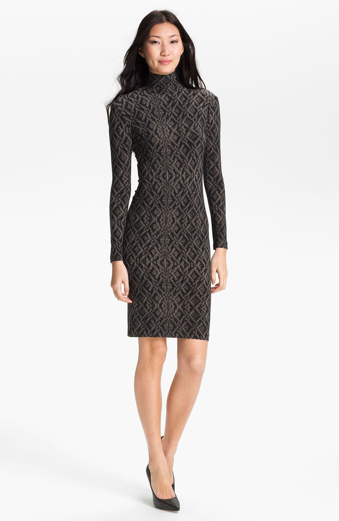 Main Image - KAMALIKULTURE Contoured Turtleneck Dress