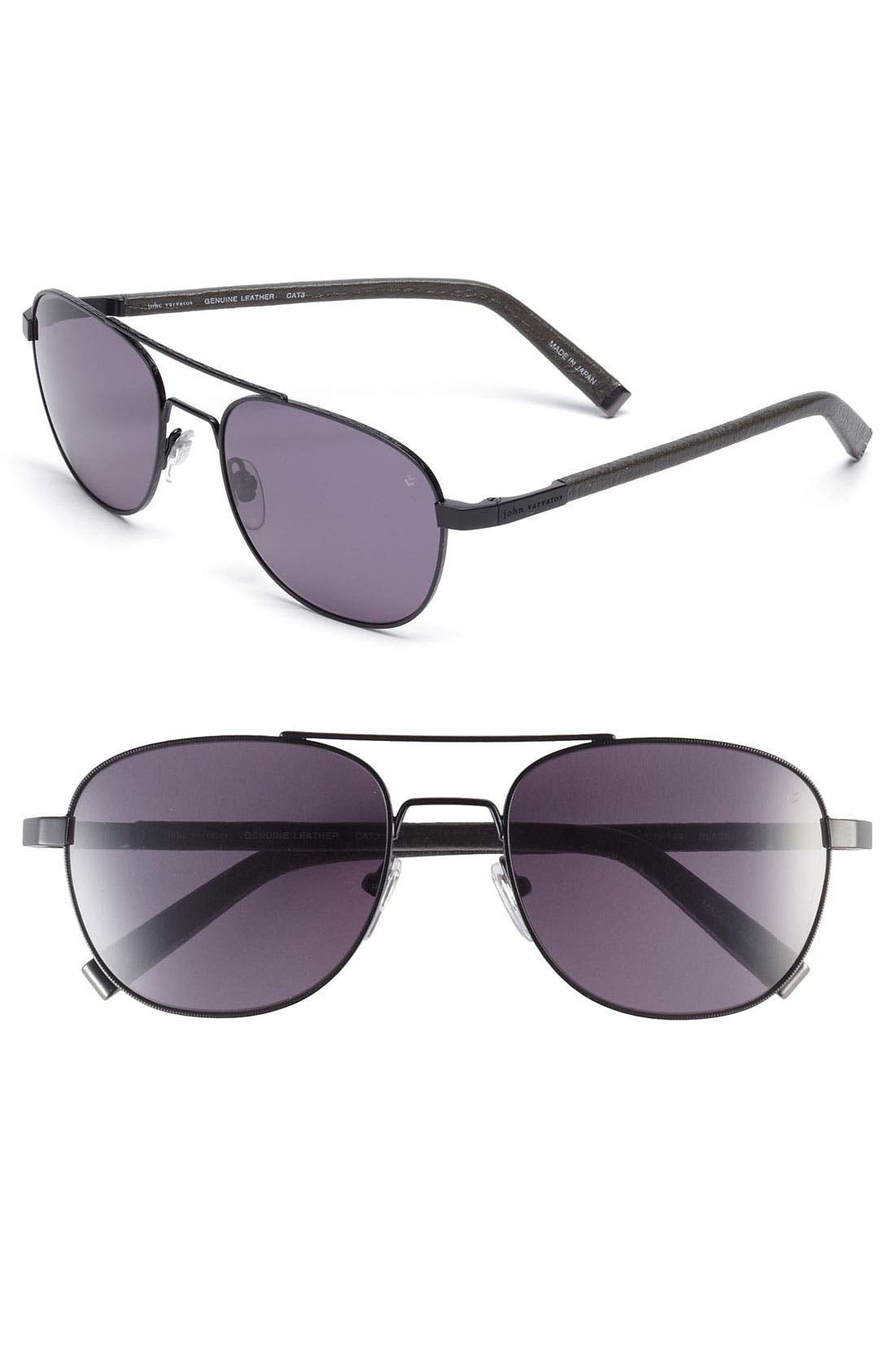 Main Image - John Varvatos Collection 55mm Sunglasses
