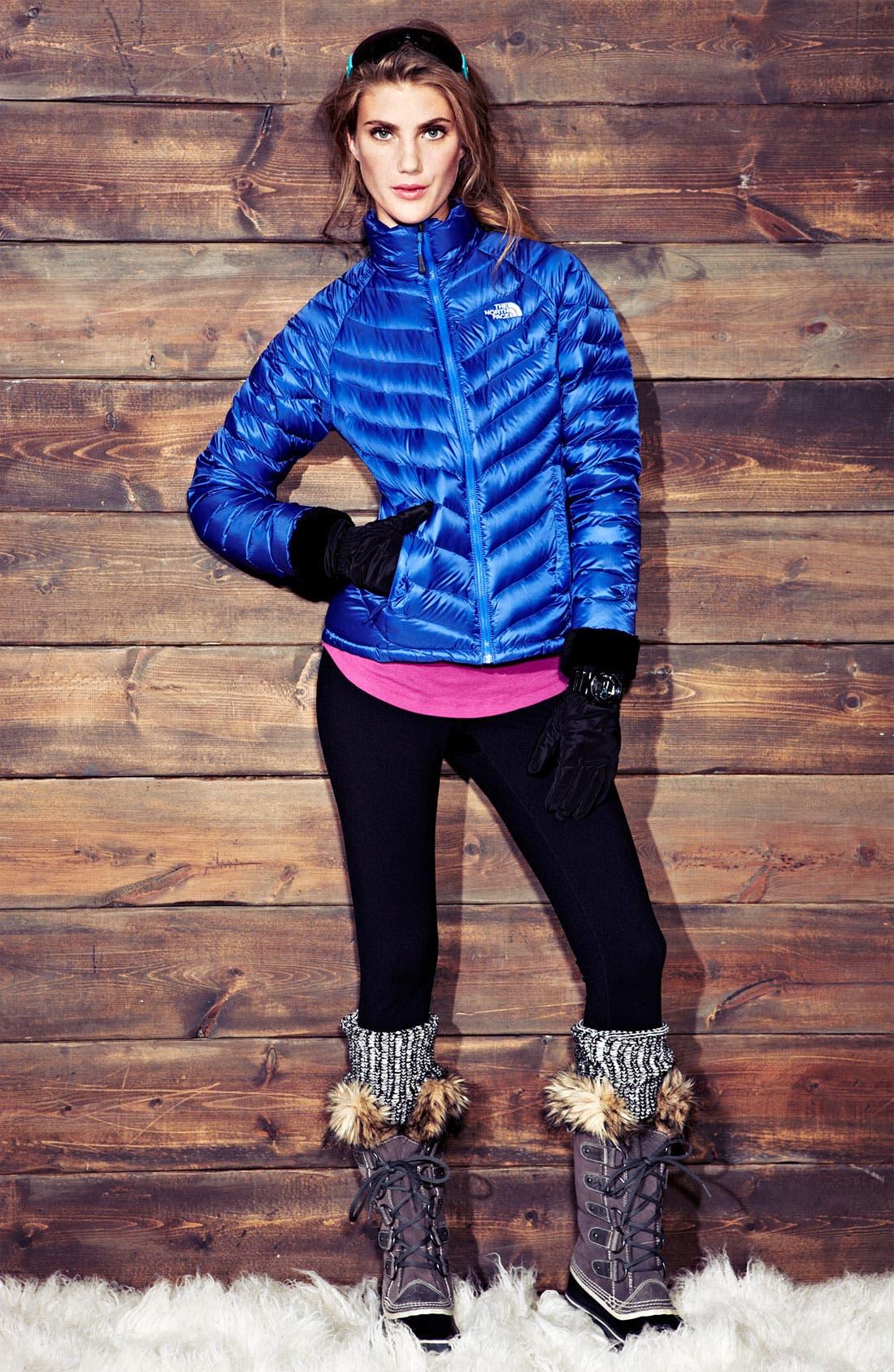 Main Image - The North Face Jacket & Zella Leggings