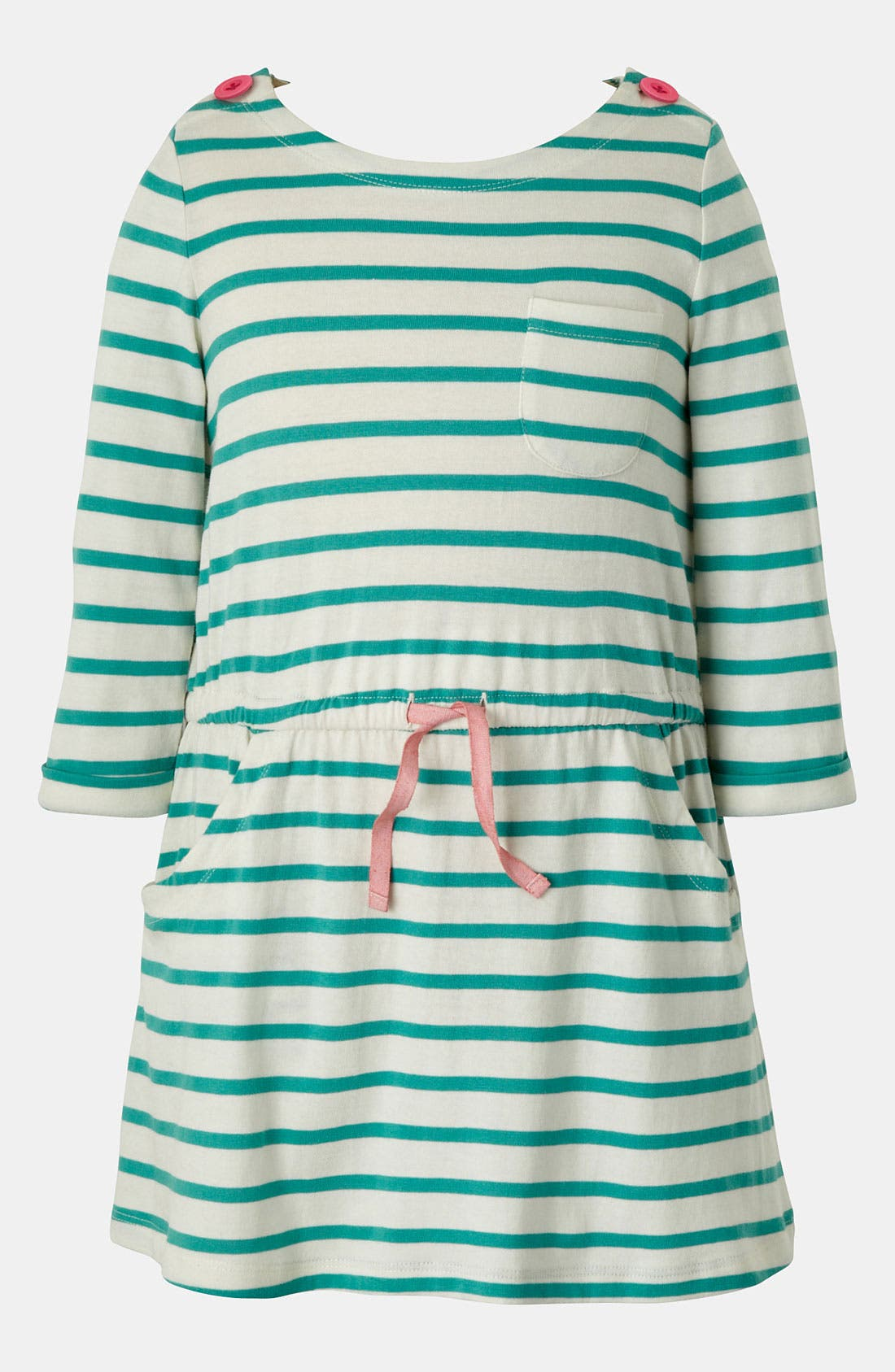 Alternate Image 1 Selected - Mini Boden Boat Neck Dress (Toddler, Little Girls & Big Girls)