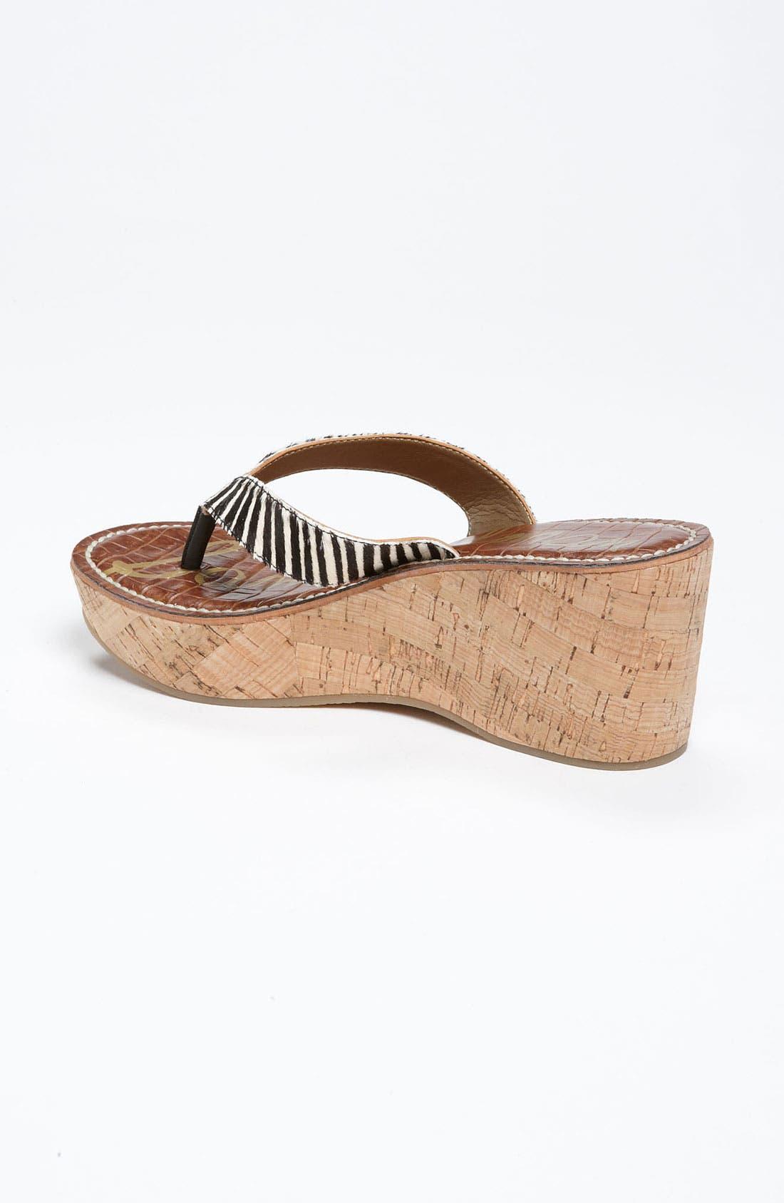 Alternate Image 2  - Sam Edelman 'Romy' Wedge Sandal