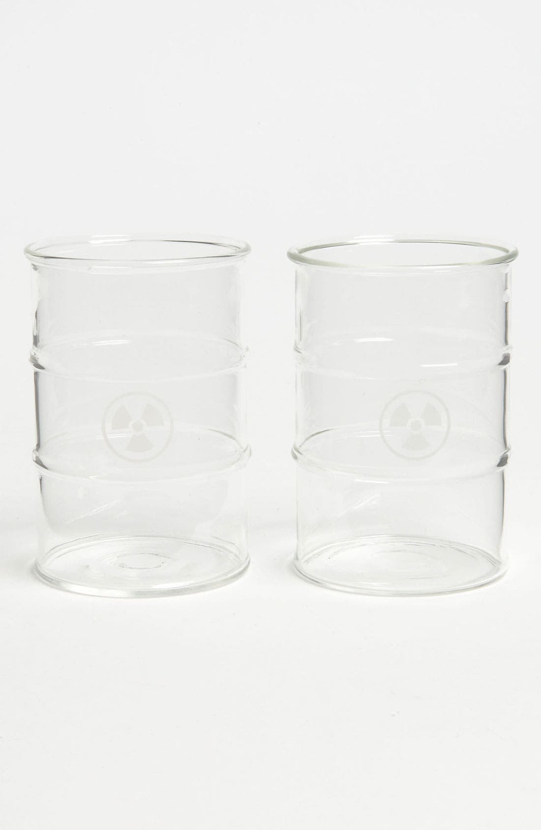 Main Image - Fred & Friends 'Polluted' Glasses (Set of 2)