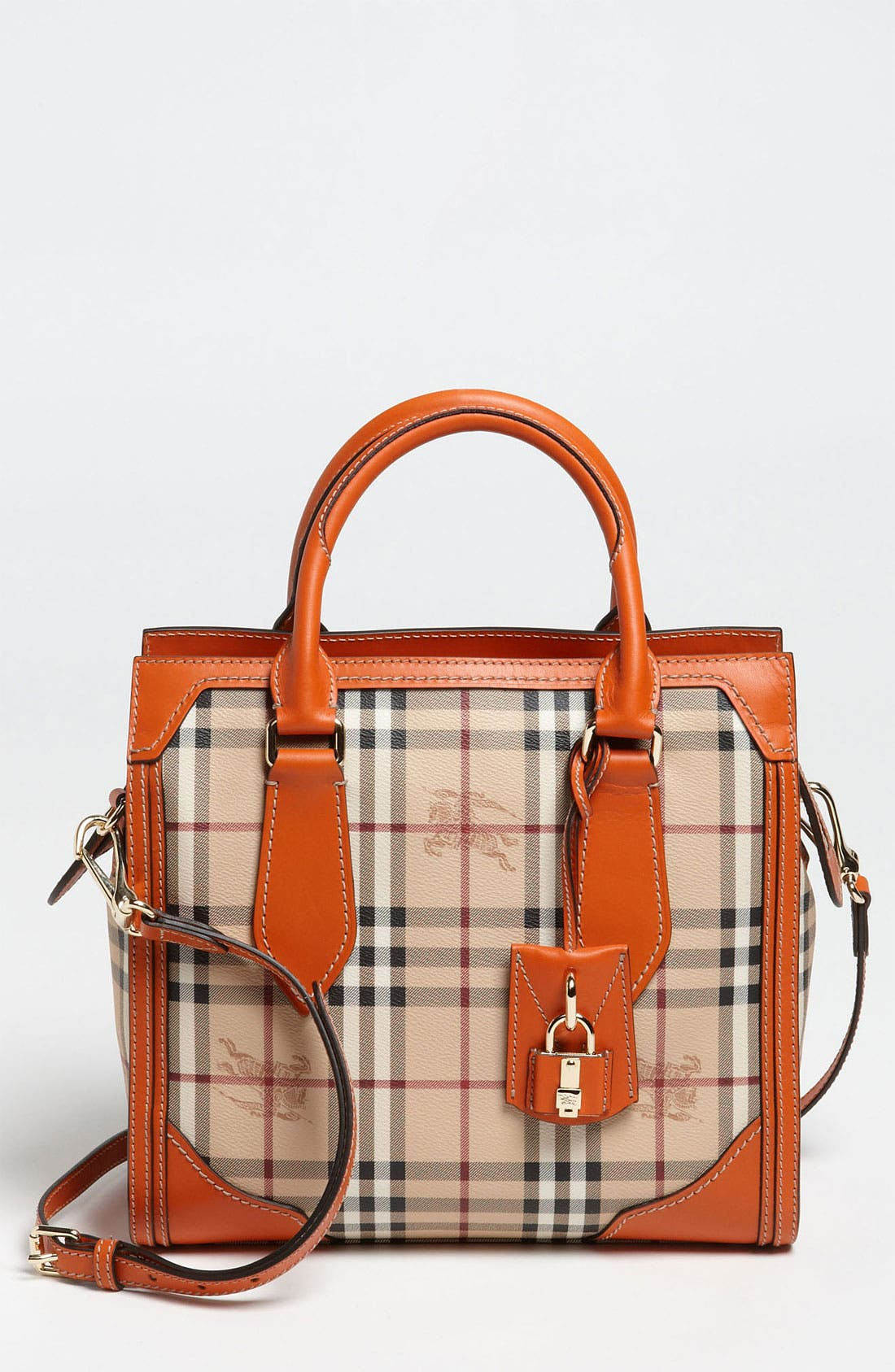 Alternate Image 1 Selected - Burberry 'Haymarket Classic' Tote
