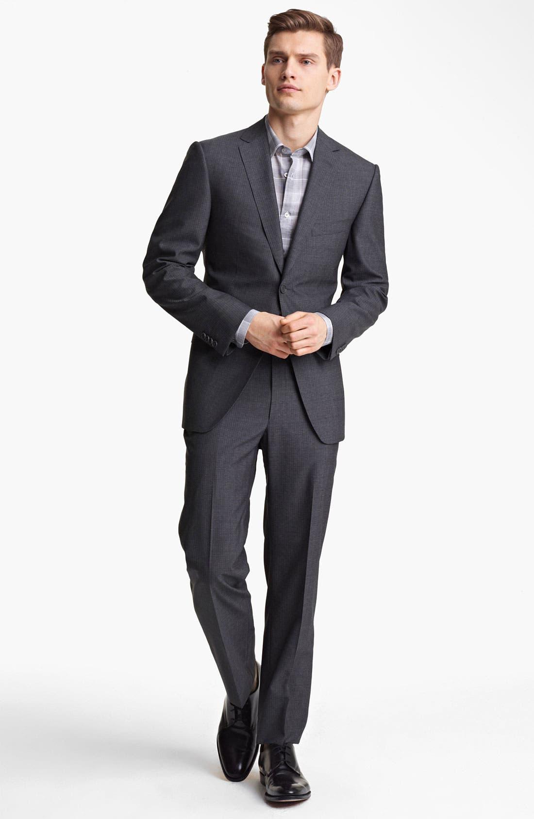 Alternate Image 2  - Z Zegna Trim Fit Wool Suit