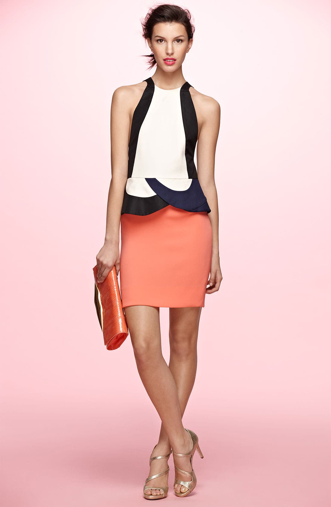 Alternate Image 4  - Diane von Furstenberg 'Eon' Peplum Sheath Dress