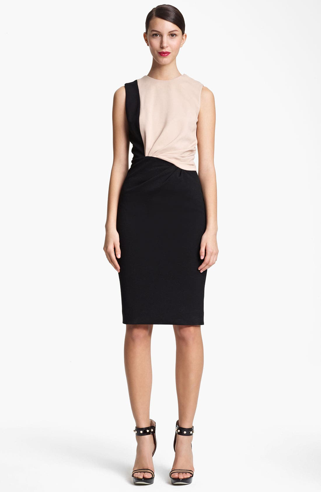 Main Image - Jason Wu Twist Detail Techno Jersey Dress