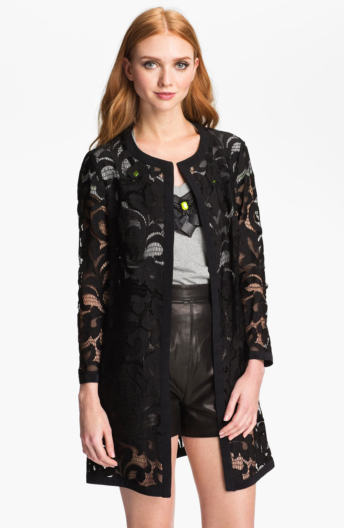 Main Image - Milly Lace Coat