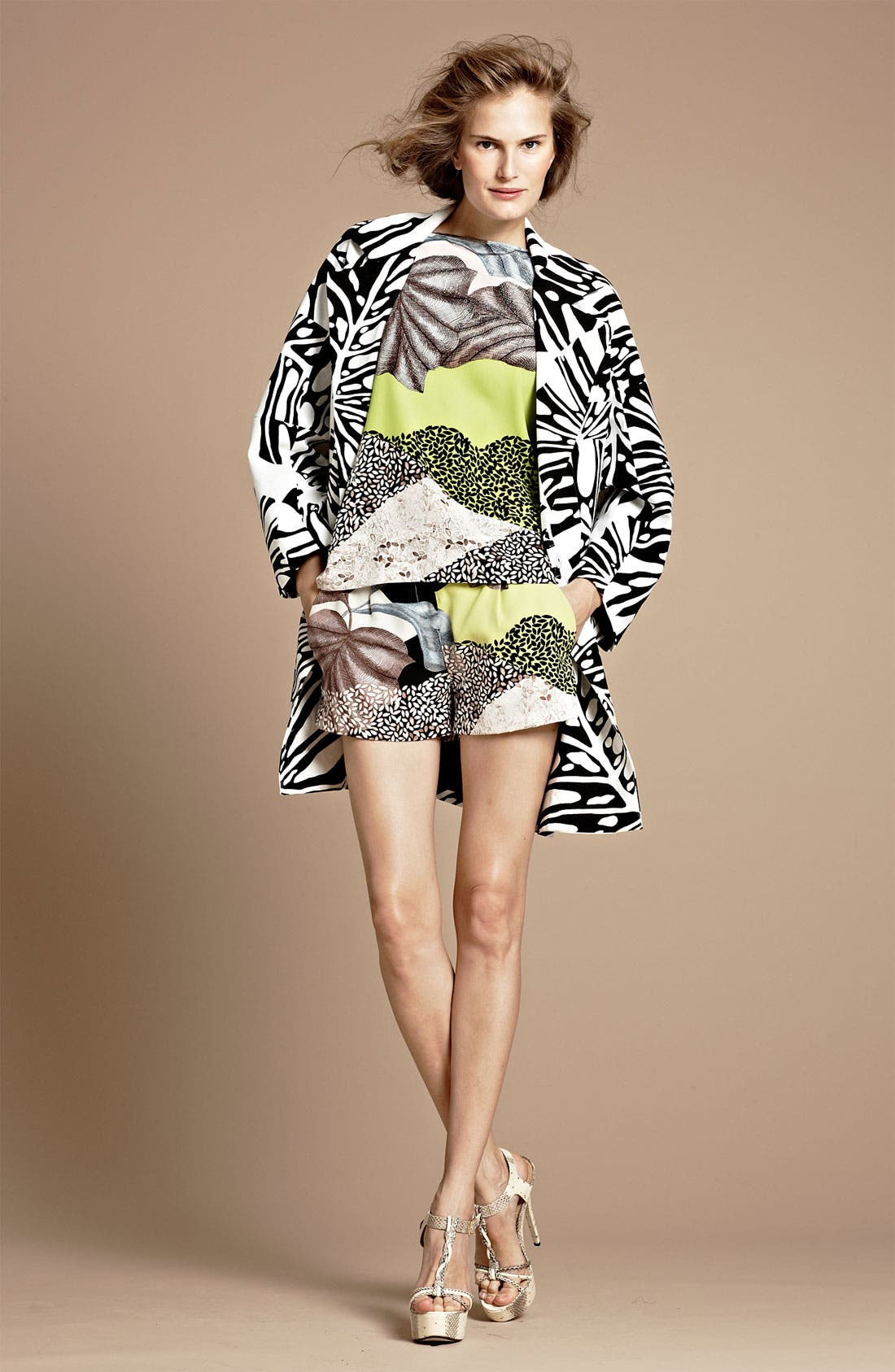 Alternate Image 4  - Diane von Furstenberg 'Naples' Silk Shorts