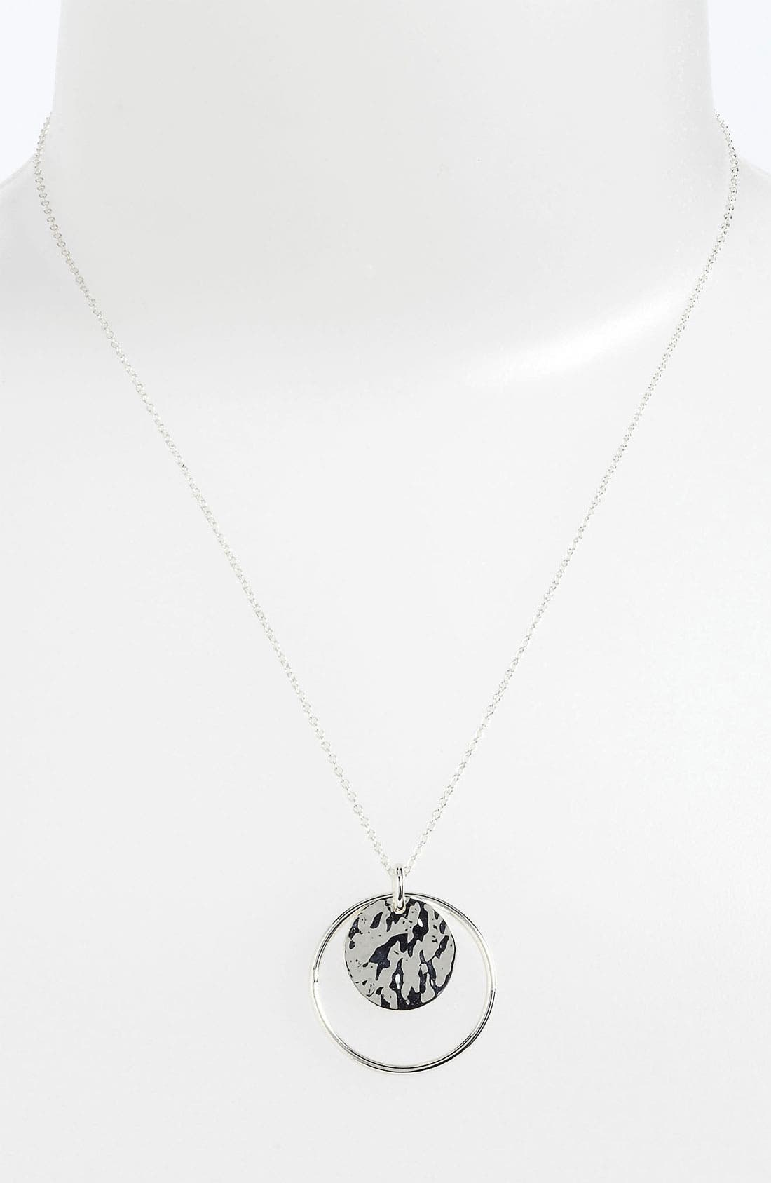 Alternate Image 1 Selected - Argento Vivo Pendant Necklace (Nordstrom Exclusive)