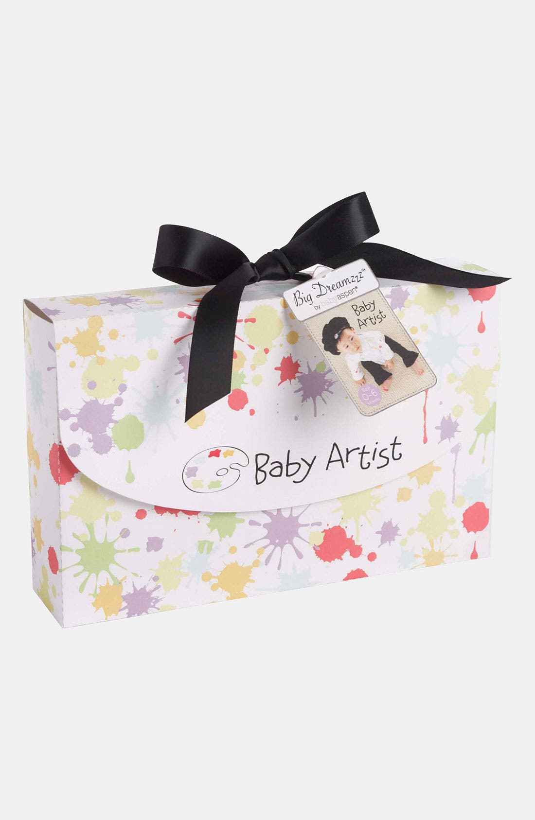 Alternate Image 3  - Baby Aspen 'Baby Artist' Shirt, Pants & Hat (Baby)