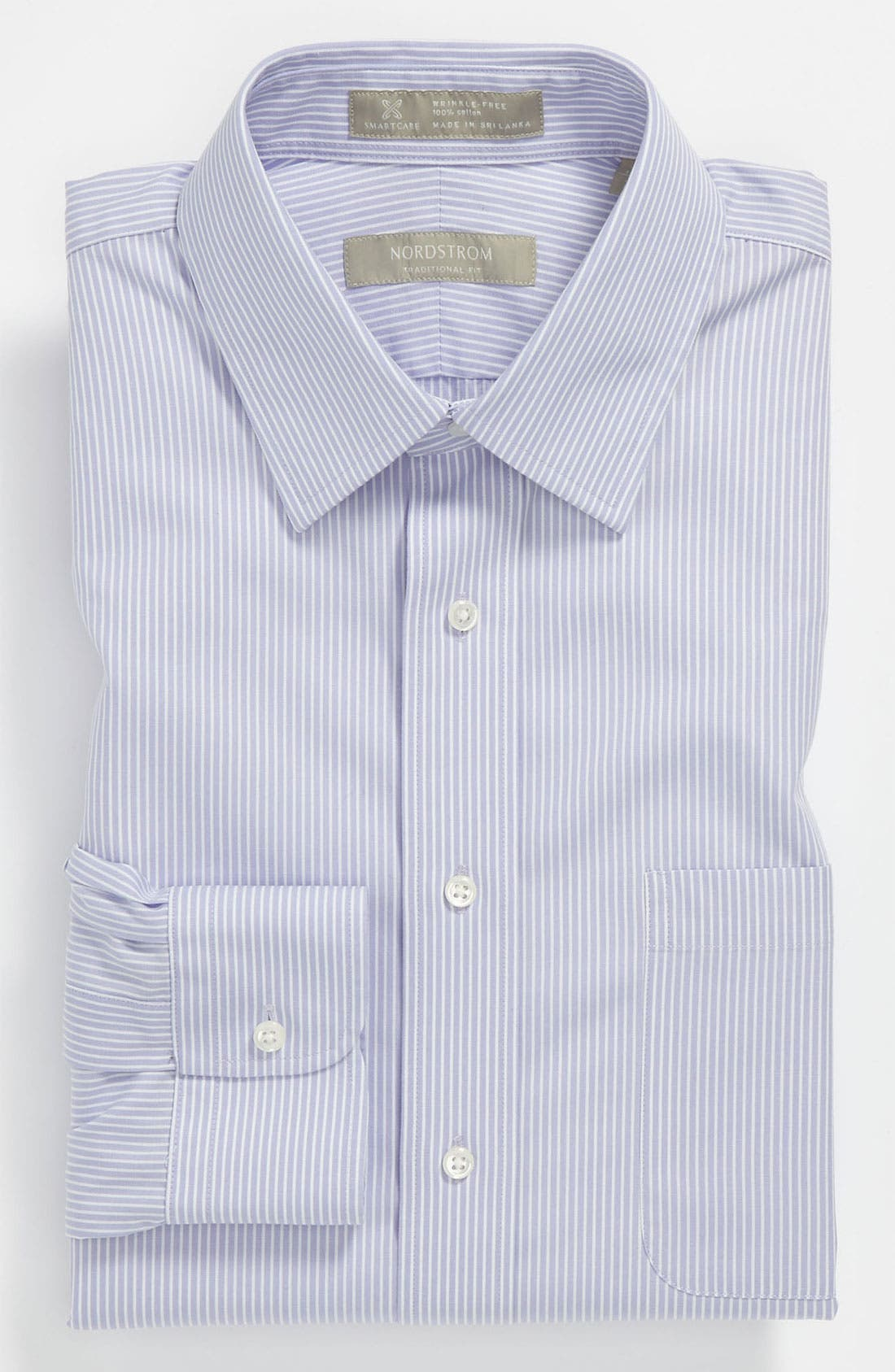 Main Image - Nordstrom Smartcare™ Traditional Fit Dress Shirt (Online Only)
