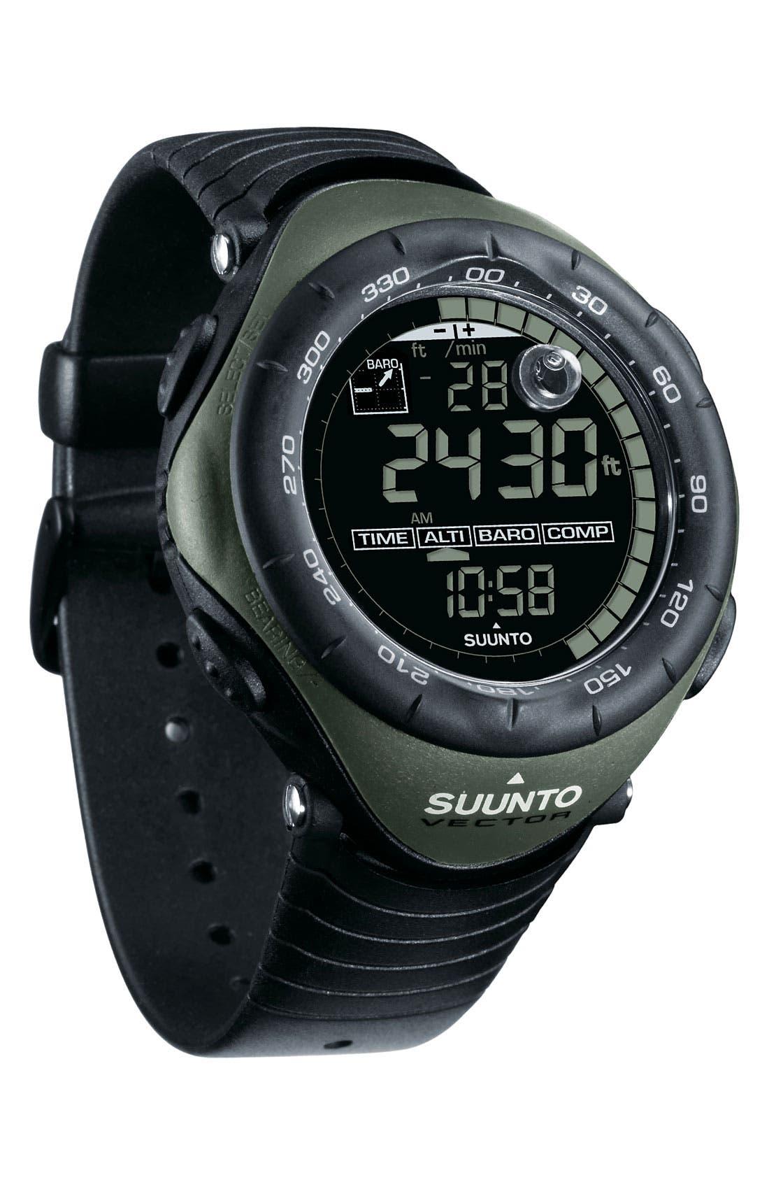 Alternate Image 2  - Suunto 'Vector' Multifunction Watch, 52mm