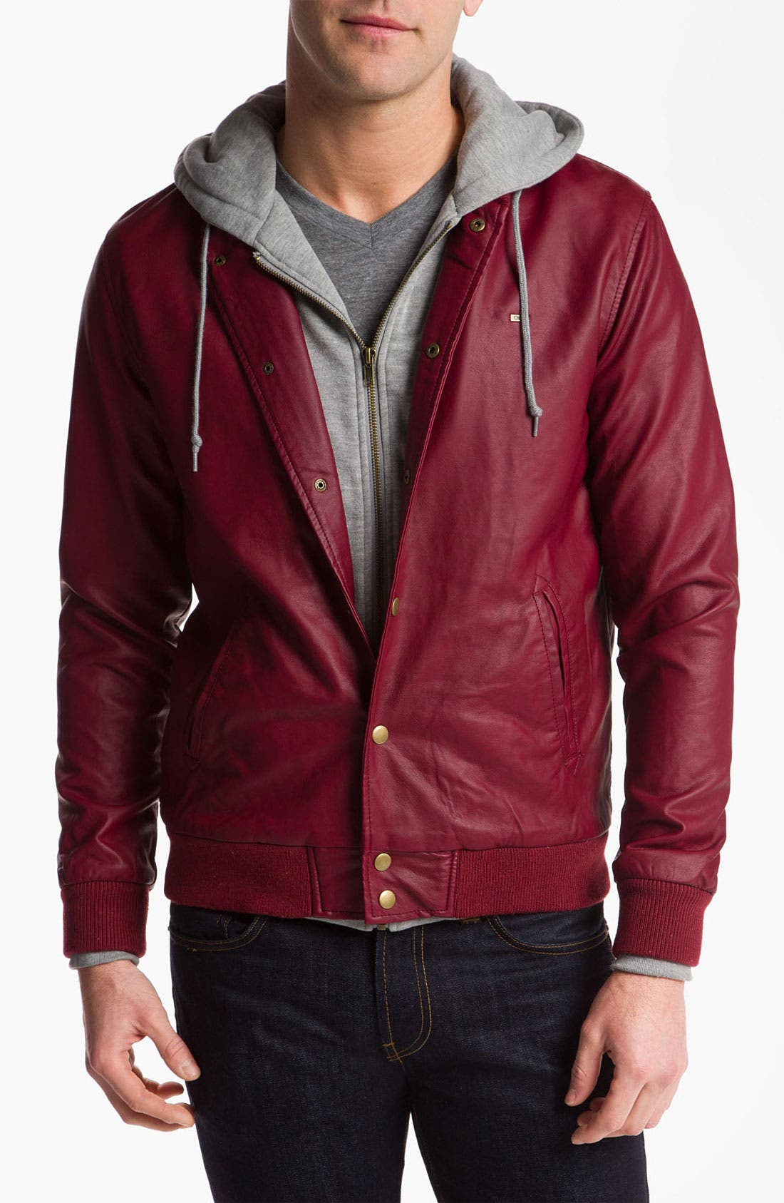 Main Image - Obey 'Varsity Legend' Jacket