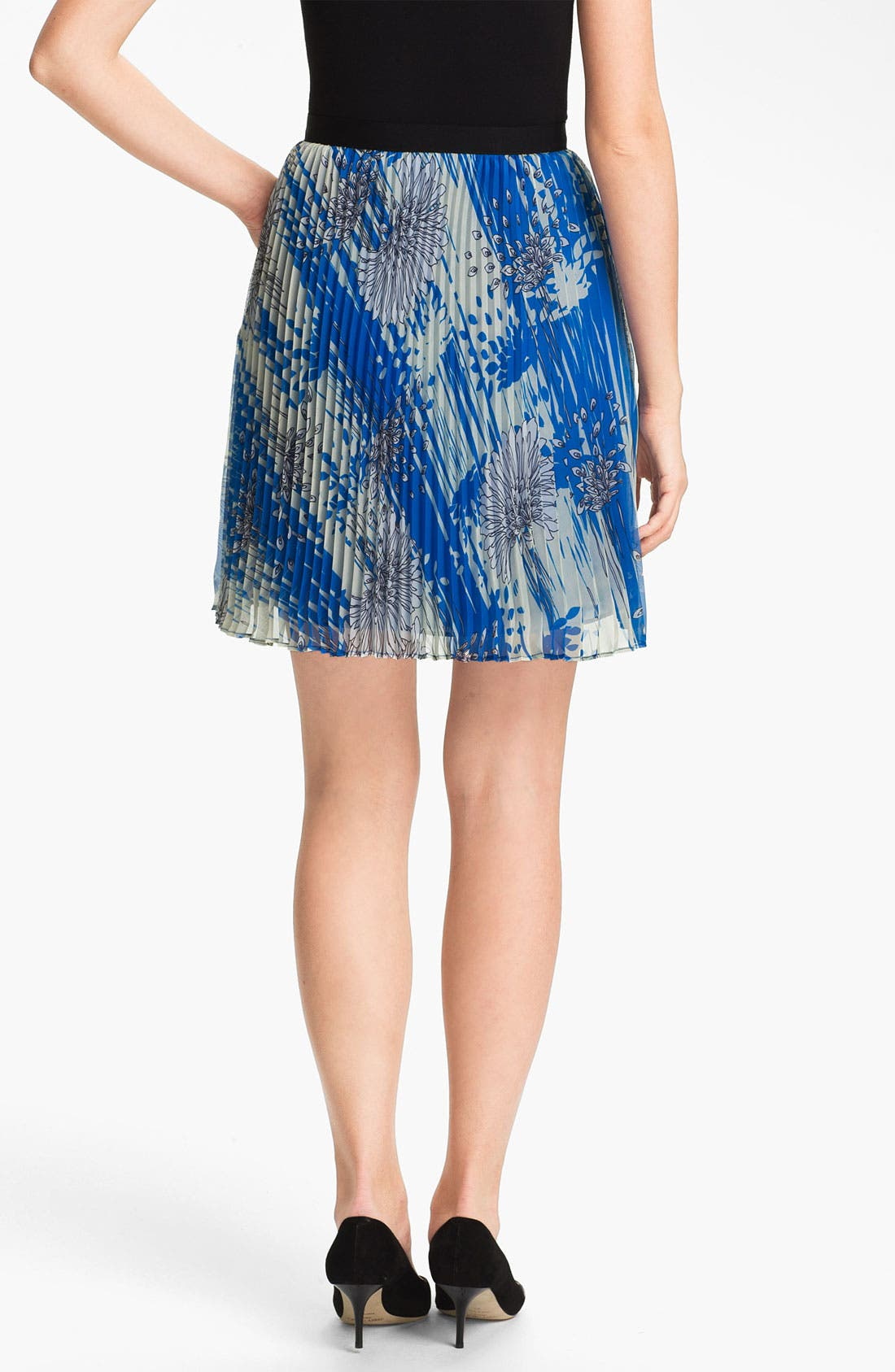 Alternate Image 2  - Miss Wu Print Chiffon Skirt (Nordstrom Exclusive)