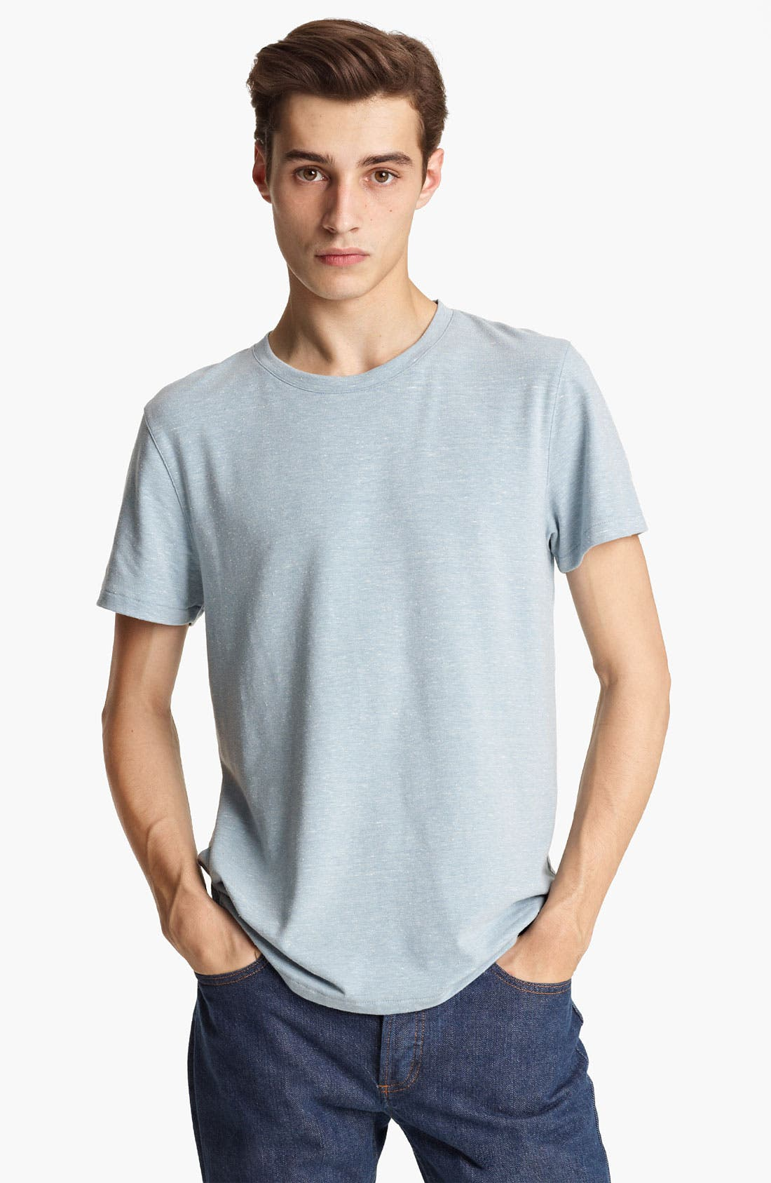 Alternate Image 1 Selected - A.P.C. Heathered T-Shirt
