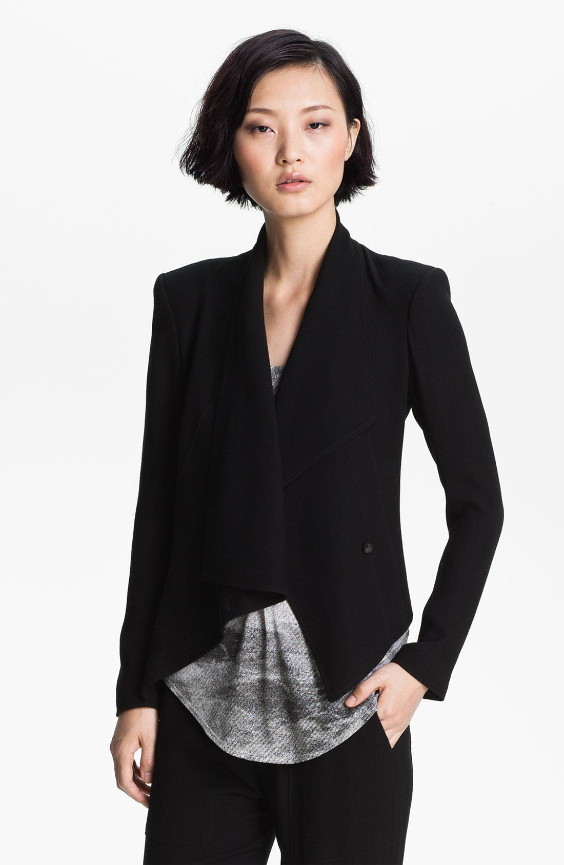 Alternate Image 1 Selected - HELMUT Helmut Lang 'Flash' Draped Blazer