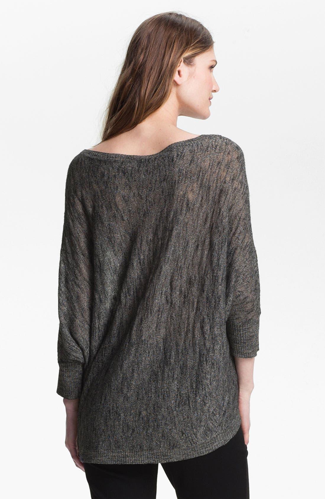 Alternate Image 2  - Eileen Fisher Bateau Neck Sweater (Online Exclusive)
