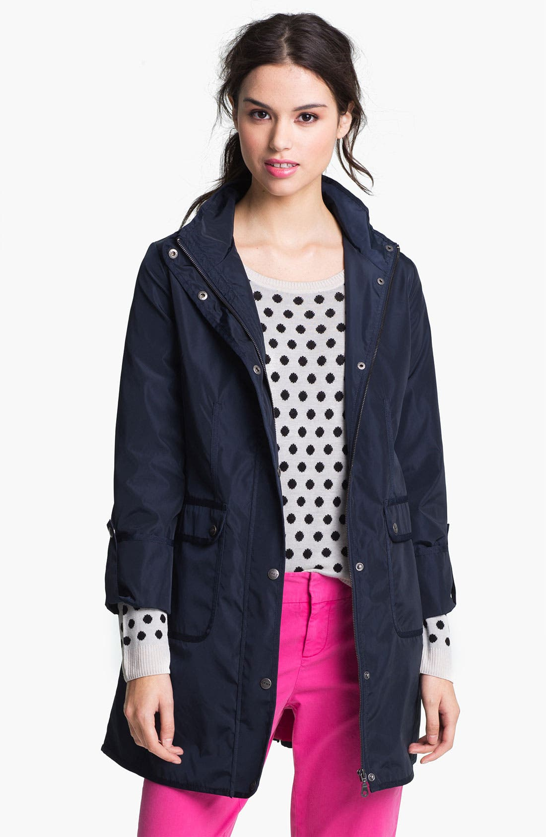 Main Image - DKNY Anorak with Detachable Split Hood