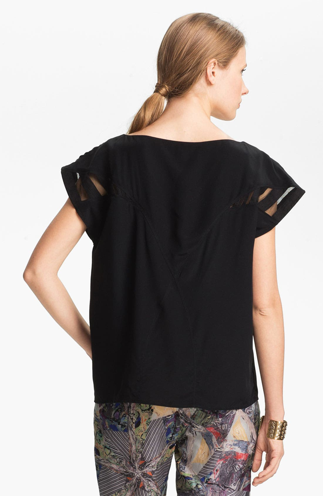 Alternate Image 3  - Kelly Wearstler 'Monarch' Silk Top