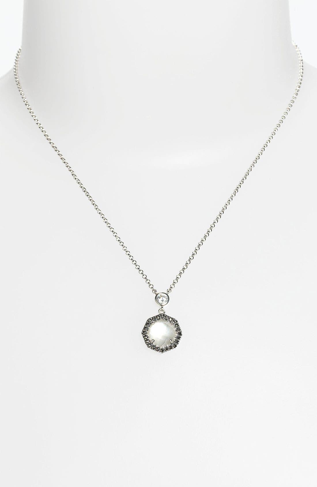 Alternate Image 1 Selected - Judith Jack 'Maldives' Small Round Pendant Necklace