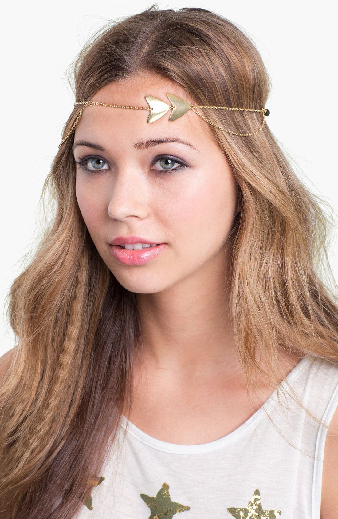 Main Image - Carole 'Arrow Chain' Head Wrap