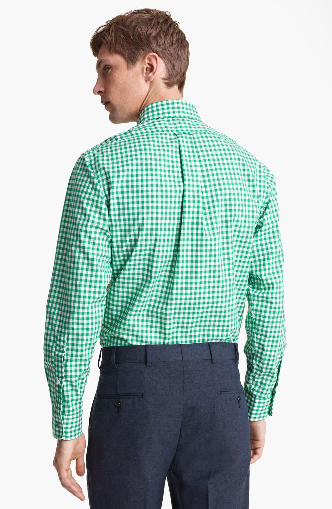 Alternate Image 2  - Brooks Brothers by Jeffrey Gingham Shirt