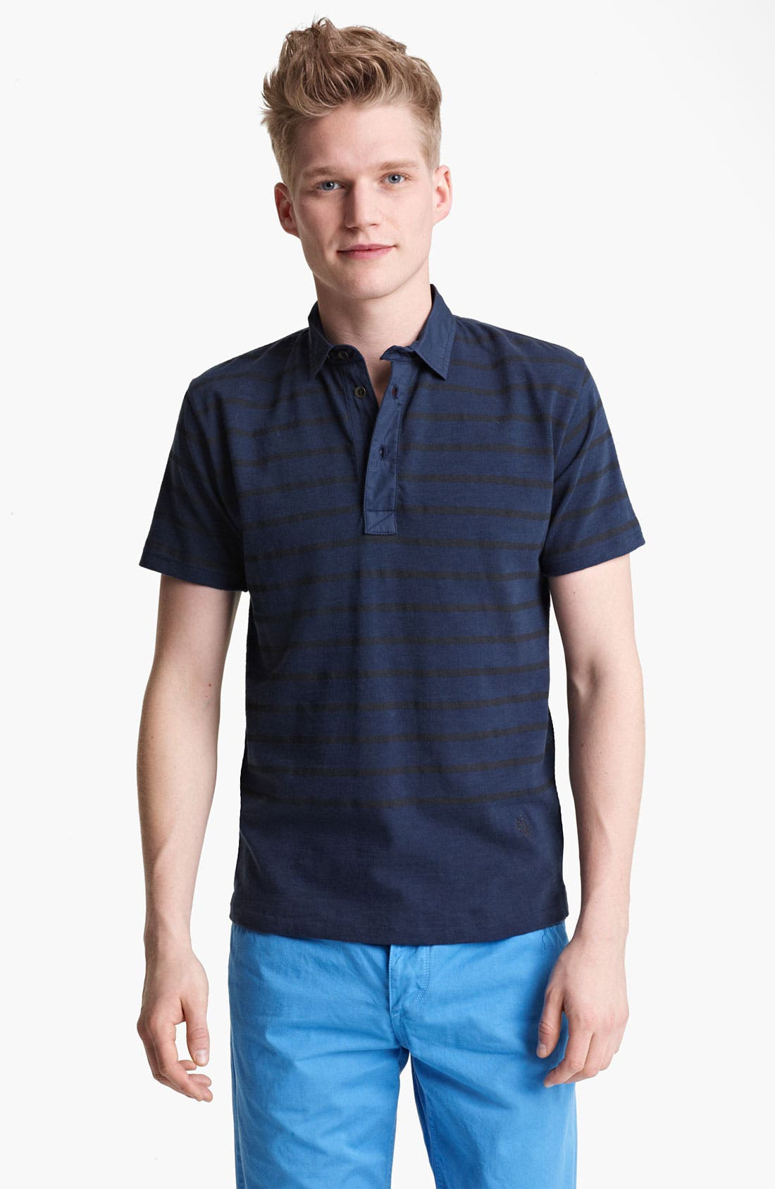 Alternate Image 1 Selected - rag & bone Stripe Polo