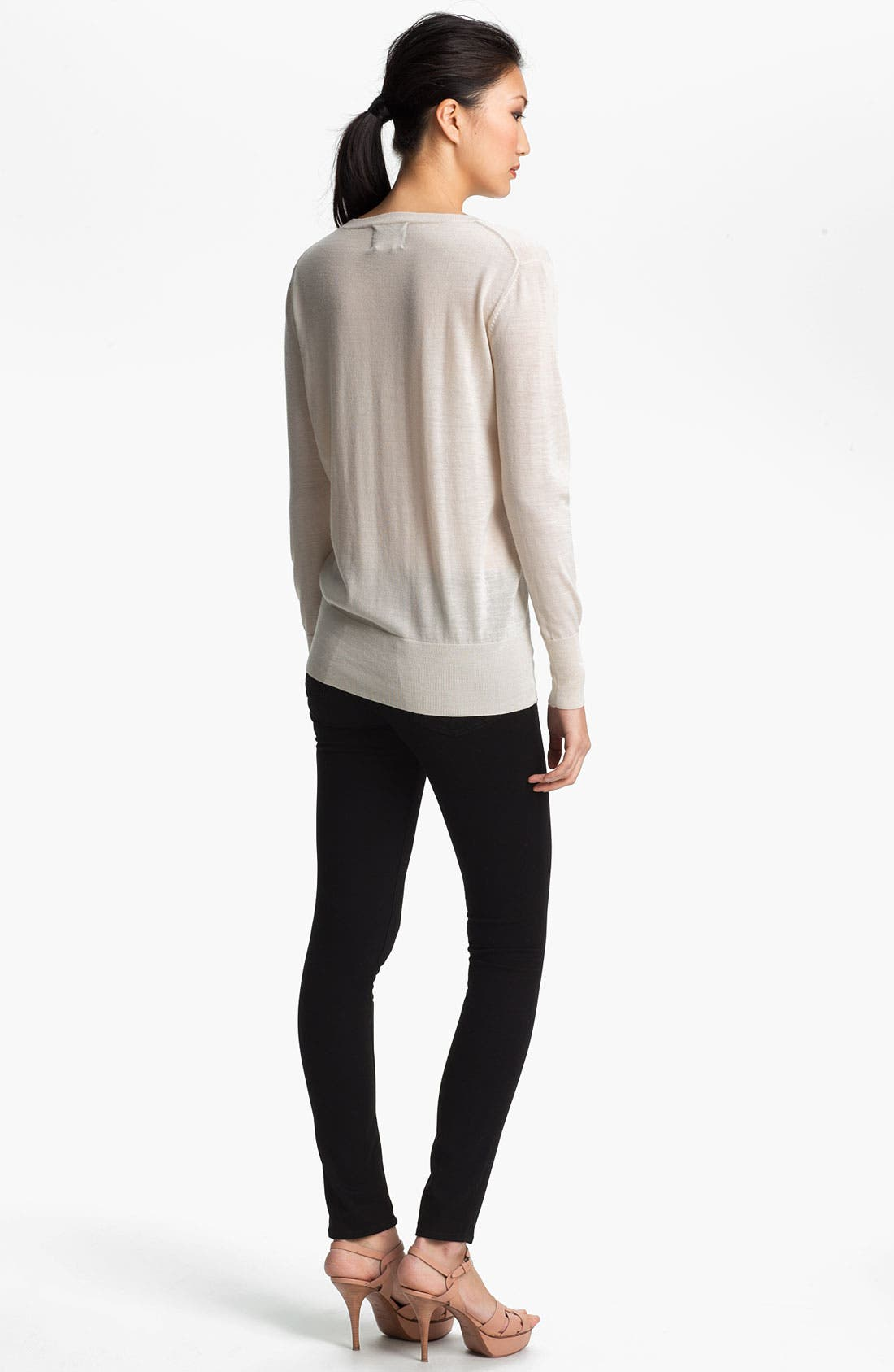 Alternate Image 4  - Markus Lupfer Sequin Lip Sweater