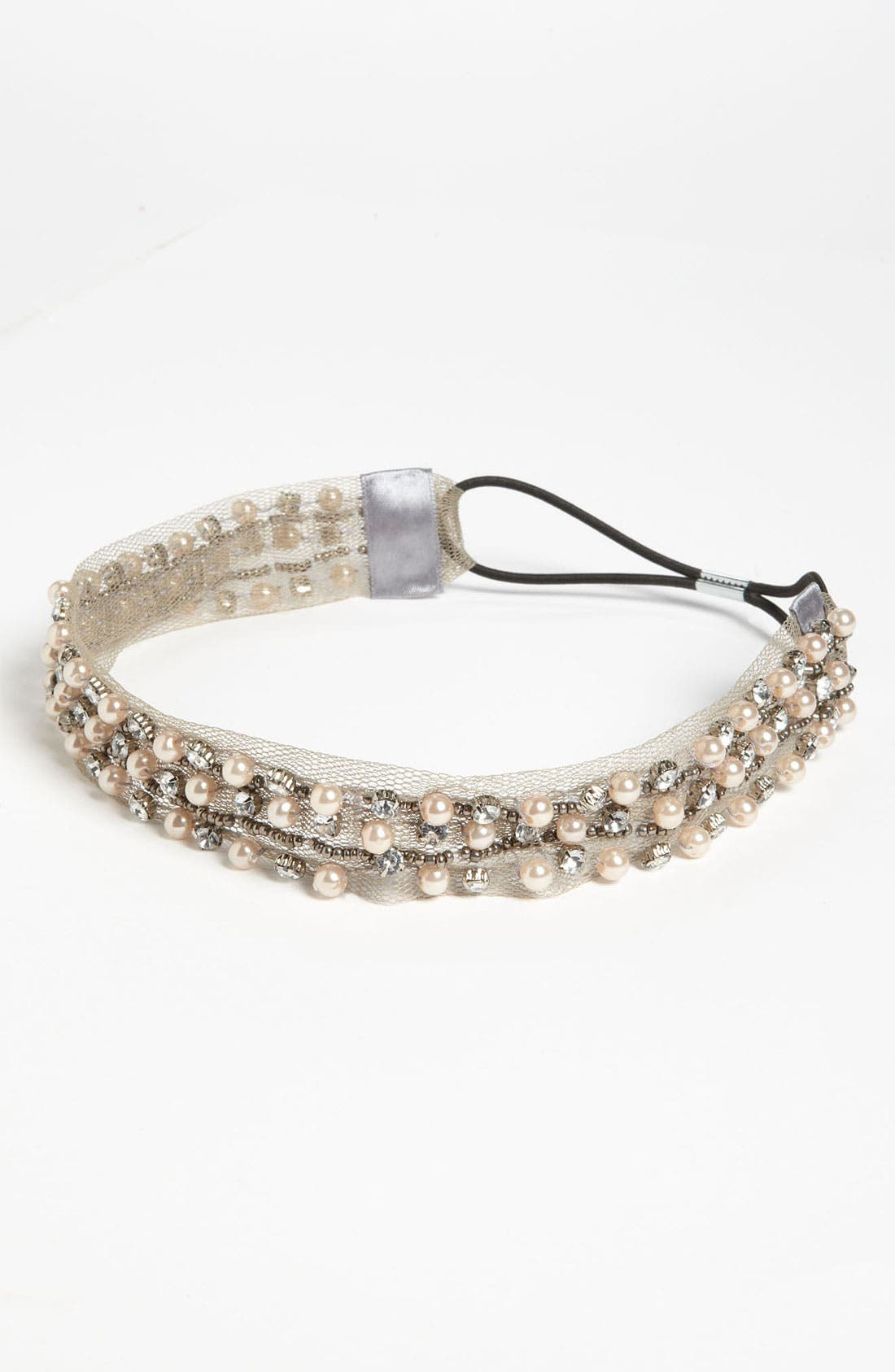 Main Image - The Accessory Collective Beaded Headband (Girls)