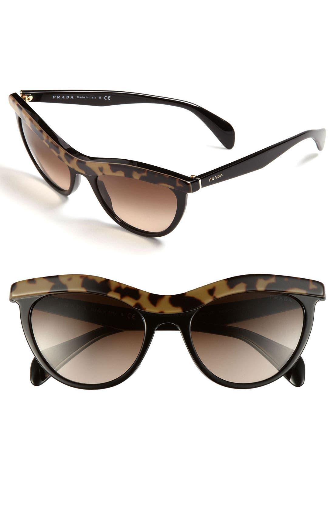 Alternate Image 1 Selected - Prada Cat's Eye Sunglasses