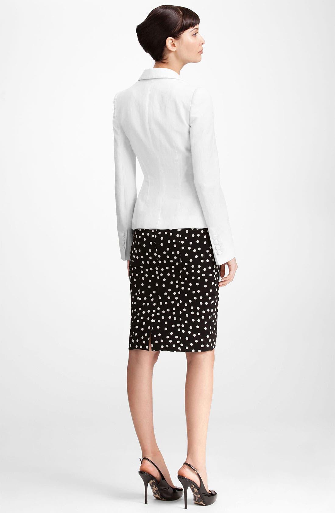 Alternate Image 2  - Dolce&Gabbana One Button Blazer