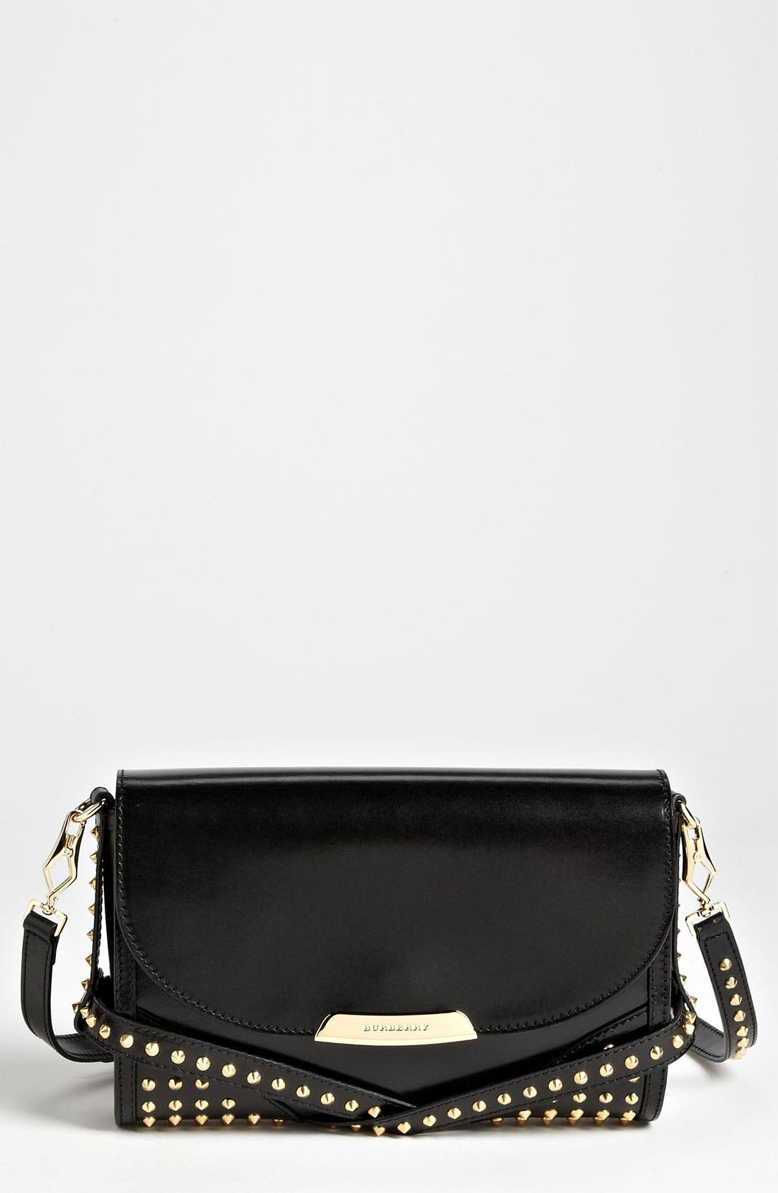 Alternate Image 1 Selected - Burberry 'Bridle Studs' Leather Crossbody Bag
