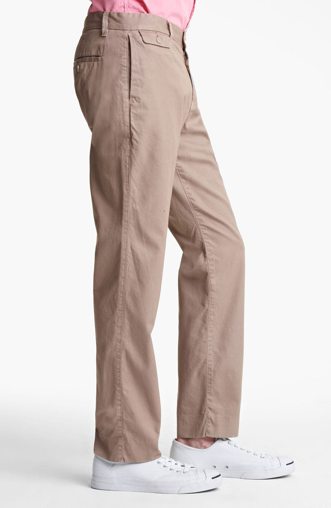 Alternate Image 2  - Save Khaki 'Happy Hour' Slim Straight Leg Pants