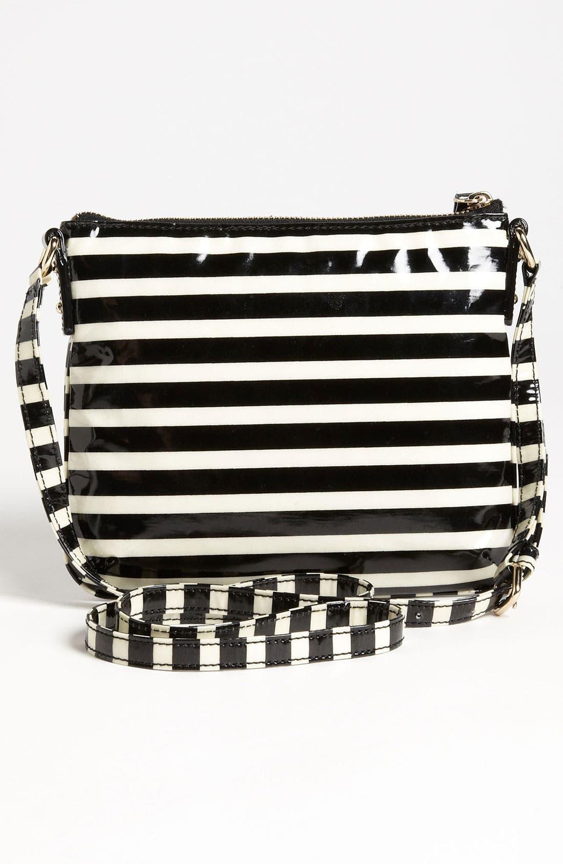 Alternate Image 4  - kate spade new york 'stripe tenley' crossbody bag