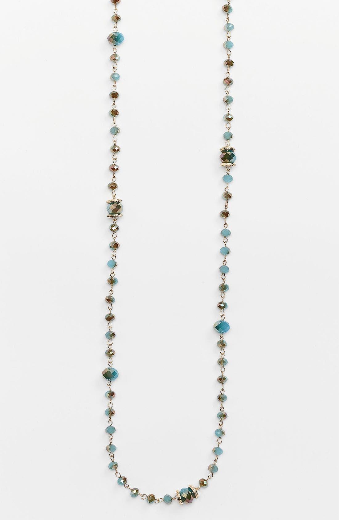 Main Image - Cara Extra Long Bead Necklace